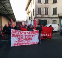 Manifestazione Ifi di Santhià