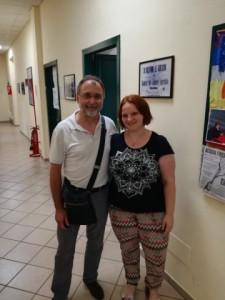Enrico Pagnoni e Silvia Franco