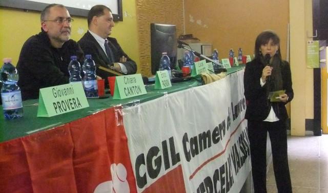 Enrico Pagnoni, Luca Quagliotti e Maura Forte