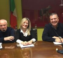 Carmine Lungo, Paola Troili e Maurizio Costa