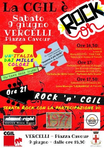 La CGIL è Rock-9 giugno-Volantino