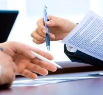 riunione, firma, contratto