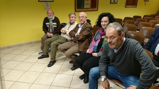 Sergio Negri, Giorgio Simonelli, Roberto Baraggioli, Antonella Napoli (rappresentante del musical Amar Riso), Claudio Canato