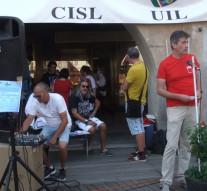L'intervento di Valter Bossoni, segretario generale Cgil Vercelli Valsesia