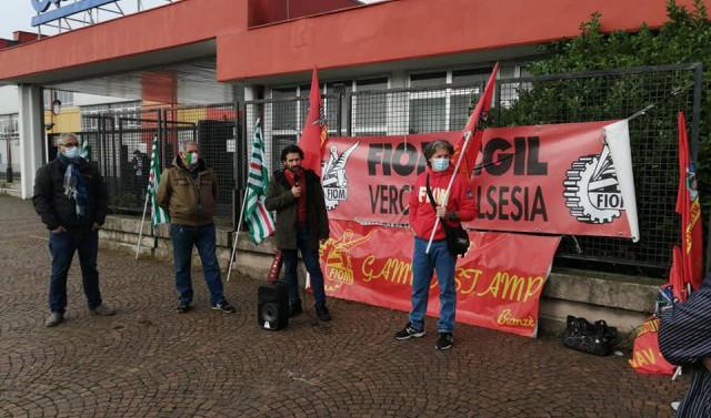 sciopero metalmeccanici 5 novembre 2020