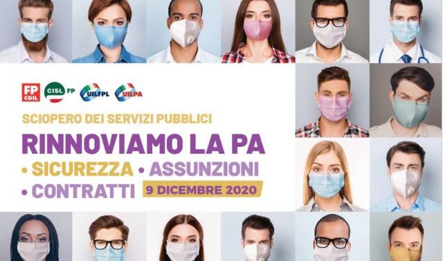 sciopero 9 dicembre 2020 fp