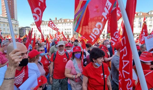 manifestazione nazionale 26 giugno 2021 Torino